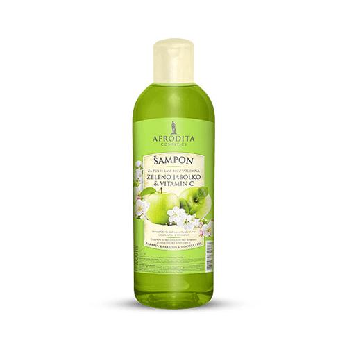 Afrodita Šampon za lase in telo - Zeleno jabolko in vitamin C