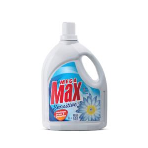 Megamax Sensitive detergent za strojno in ročno pranje perila