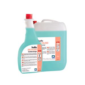 Hollu Betazid sanitarno čistilo za vse kislinsko obstojne površine