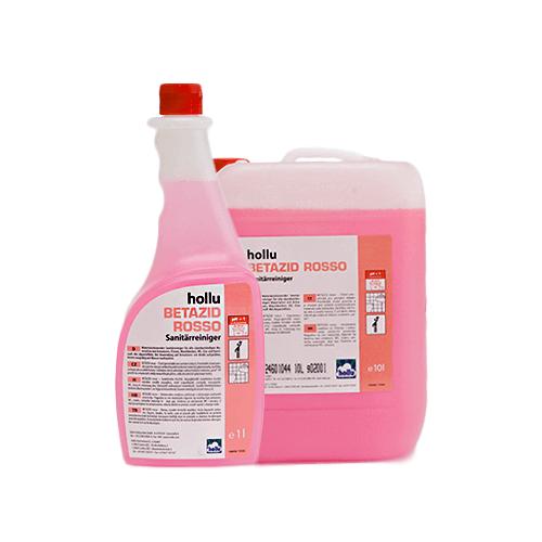 Hollu Betazid Rosso sanitarno čistilo za vse kislinsko obstojne površine
