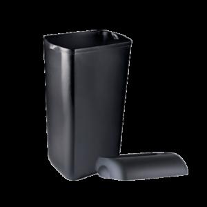 Koš za smeti stenski marplast 23l črni