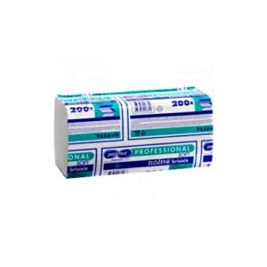 Paloma zložene brisače Soft 2-slojne bele (v pregib)