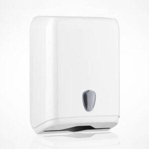 Marplast Prestige podajalnik zlozenih brisac beli