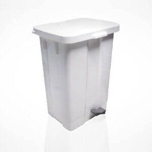 Marplast kos za odpadke s pedalom beli
