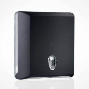Marplast podajalnik zlozenih brisac (mali) crni