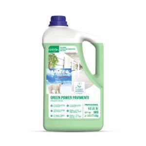 Sanitec Green Power Pavimenti 5kg ekološko čistilo za tla