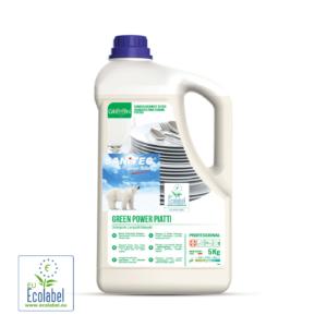 Sanitec Green Power Piatti 5kg ekološki detergent za pomivanje posode