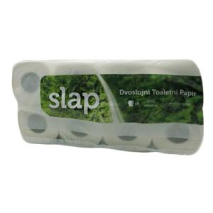 SLAP wc papir v rolah 2-slojni