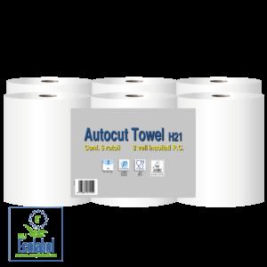 autocut paperblu paperdi papirnate brisace v roli ECOLABEL