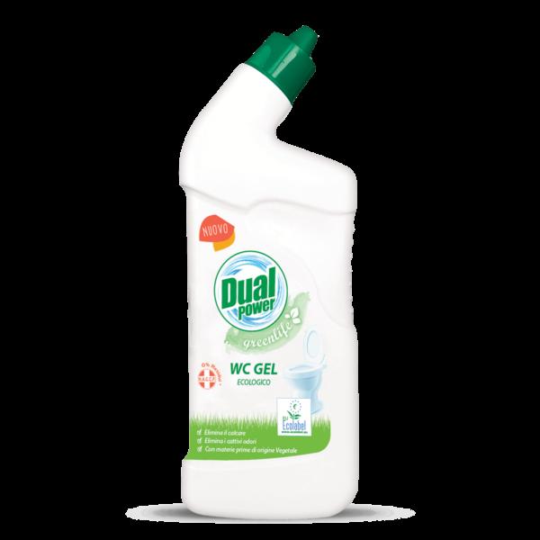 dual power greenlife wc gel ecolabel 750ml cistilo za wc skoljko