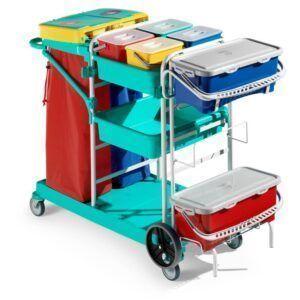 TTS Green Line Healthcare 1010 čistilni voziček