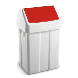 TTS Max kos za odpadke rdeci