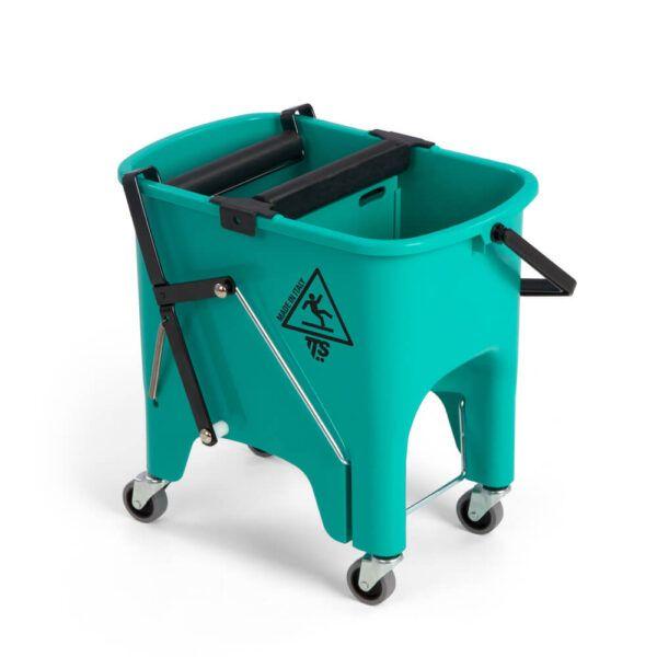 TTS Squizzy Roll cistilni vozicek zeleni 15l