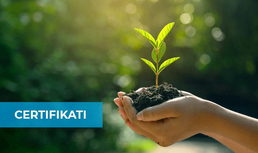 Certifikati ecolabel zmanjšan vpliv na okolje